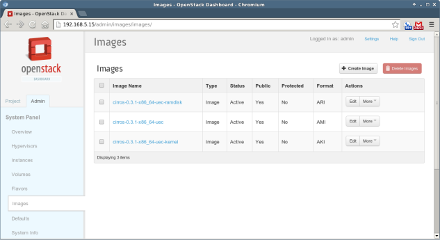 OpenStack - 5 - Images