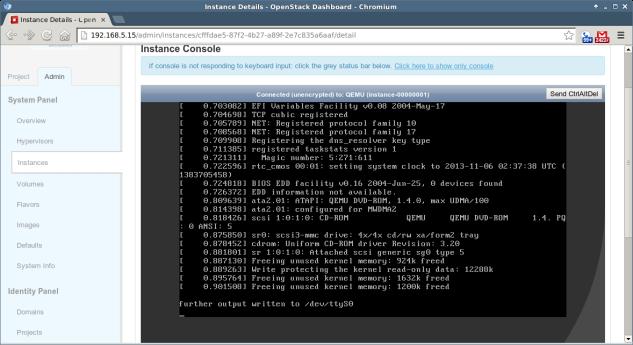 OpenStack - 3 - Instance Details