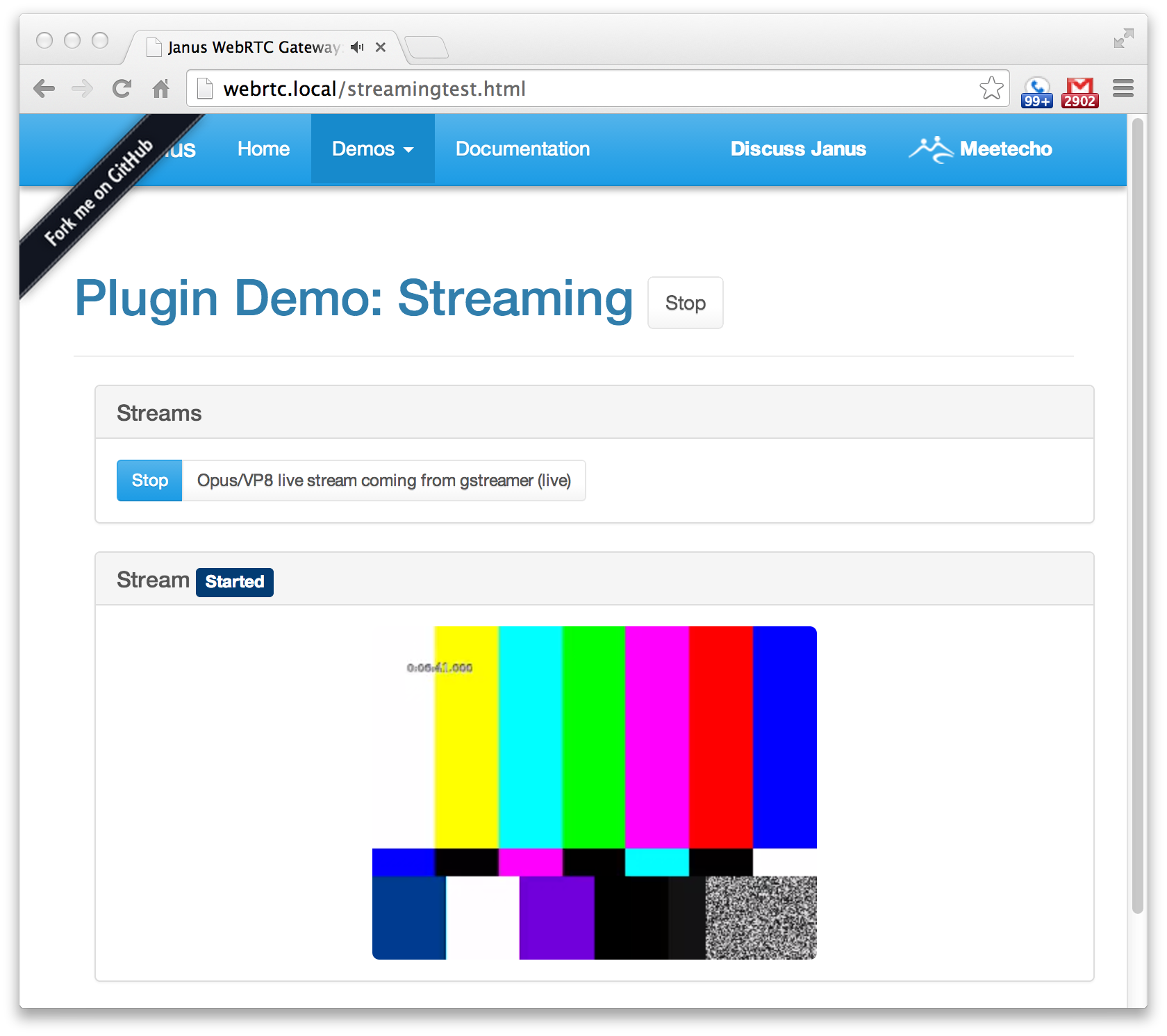 Lightweight, Live Video in a Webpage with GStreamer and WebRTC