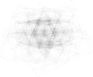 Example of GraphViz rendered via sfdp