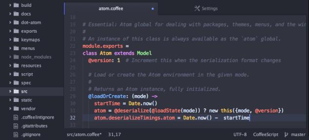 Atom UI